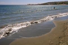 kust- cyprus lanscape Arkivbild