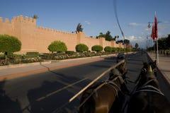 Kust de muur Royalty-vrije Stock Fotografie