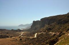Kust dichtbij de stad Salalah (Oman) Royalty-vrije Stock Foto's