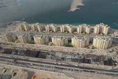 kust- dubai bosättning royaltyfria bilder