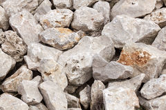 Kust Een stapel van stenen Royalty-vrije Stock Afbeeldingen