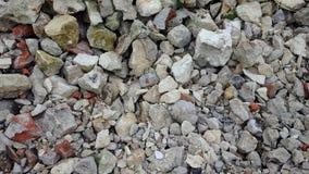 Kust Een stapel van stenen Stock Foto's