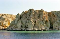 kust egypt för rött hav Arkivbilder