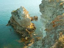 Kust en eiland Royalty-vrije Stock Foto