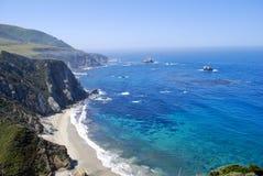 kust för 4 Kalifornien Royaltyfri Fotografi