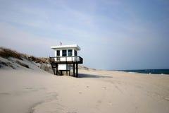 kust för jersey livräddareskjul Arkivbilder