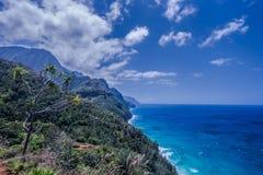 Kust för Na Pali Fotografering för Bildbyråer