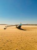 Kust för Nativ fiskekänga av Madagaskar Arkivbilder
