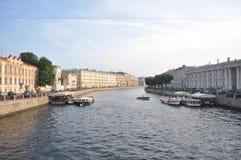 Kust- flod Arkivfoto