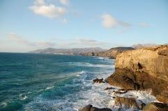 Kust Fuerteventura Royalty-vrije Stock Afbeelding