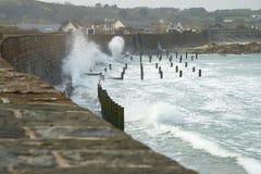 Kust- Guernsey Kanalisera öar Royaltyfri Bild