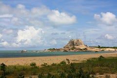 Kust, het Nationale Park van Yala, Sri Lanka Royalty-vrije Stock Afbeelding
