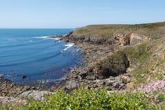 Kust i Brittany Royaltyfri Fotografi