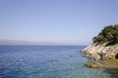Kust i dalmatia fotografering för bildbyråer