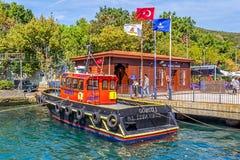 Kust- Istanbul Arkivfoto