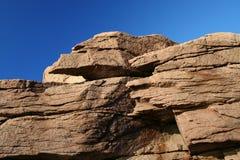 kust- klippa Royaltyfri Foto