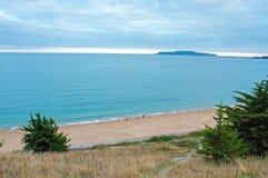 Kust- landskap för sommartid i Dorset Fotografering för Bildbyråer