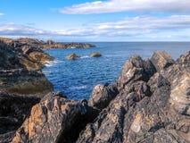 kust- liggandeskott Fotografering för Bildbyråer