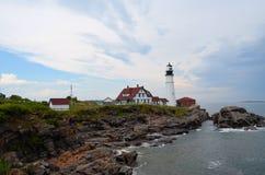 Kust- Maine Arkivbild