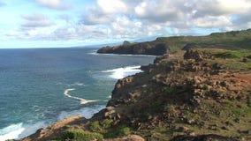 Kust Maui, Hawaii lager videofilmer