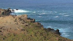 Kust Maui, Hawaii arkivfilmer