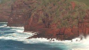 Kust Maui, Hawaii stock video