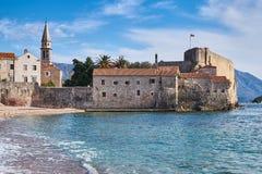 kust- Montenegro royaltyfria bilder