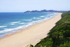 kust mozambique Royaltyfria Bilder
