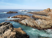 Kust nära stora Sur - Kalifornien Royaltyfria Bilder
