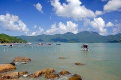 Kust in Nha Trang Royalty-vrije Stock Fotografie