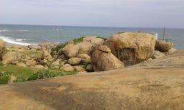 Kust på Kirinda royaltyfri foto