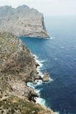 Kust in palma DE Mallorca Royalty-vrije Stock Afbeelding