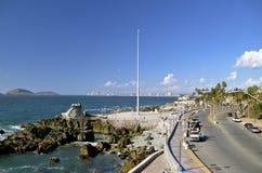 Kust- plats av Mazatlan, Mexico Arkivfoton