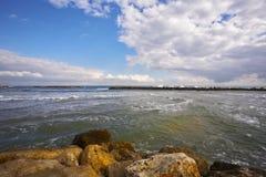 kust- rockshav Royaltyfria Bilder