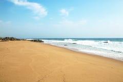 Kust- Seascape på söder - afrikannorrkust Arkivfoton