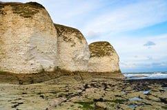 Kust- sikt av Flamborough Royaltyfri Fotografi