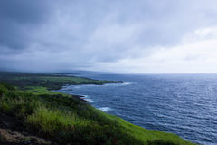 Kust- sikt på den stora ön Royaltyfria Foton