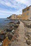 Kust- sikter av St Tropez Royaltyfria Foton