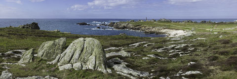 kust- sorrento för equenseliggandemeta vico Royaltyfri Foto