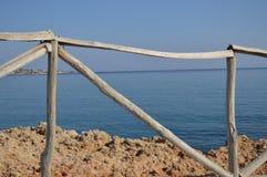 Kust- staket Royaltyfri Bild