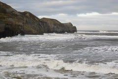 kust- storm royaltyfria foton