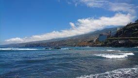 Kust Tenerife Royalty-vrije Stock Foto's