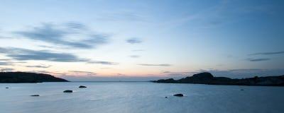 kust västra sweden royaltyfri foto
