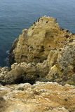 Kust van Algarve, Portugal stock afbeelding