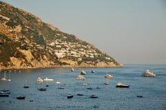Kust van Amalfi, Italië Royalty-vrije Stock Foto's
