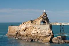 Kust van Biarritz Royalty-vrije Stock Afbeeldingen