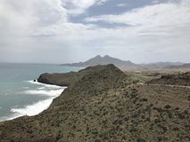 Kust van Cabo DE Gata royalty-vrije stock foto