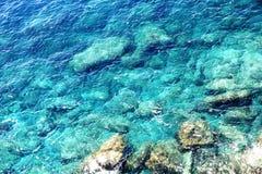 Kust van Cinque Terre Stock Foto's