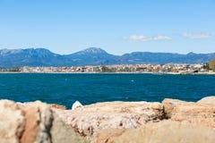 Kust van Costa Dorada, Spanje Royalty-vrije Stock Afbeeldingen