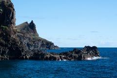 Kust van de Atlantische Oceaan Stock Fotografie